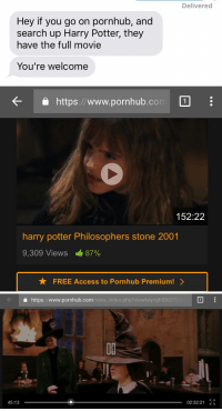 Harry Potter Memes And Pornhub Hey If You Go On Pornhub And