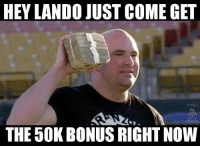Welp @groovylando just murked a dude. Cant have a much better performance than that mma ufc mmamemes ufcmemes ufc206: HEY LANDO JUST COME GET  MMA  THE 50KBONUS RIGHT Now Welp @groovylando just murked a dude. Cant have a much better performance than that mma ufc mmamemes ufcmemes ufc206