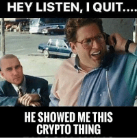 Click, Community, and Memes: HEY LISTEN, I QUIT.  HE SHOWED ME THIS  CRYPTO THING Need a new income stream? Learn how to trade cryptocurrencies! Click the link in my bio👉 @millionaire_mentor 🔹Daily signals via SMS text notifications And Email 🚨 🔹Join Our Crypto Trading Community! 🔹 Weekly Live Webinars and Q&A 🔹Team of Professional Market Analysts and Experts 🔹Join now for free 👉 @millionaire_mentor Follow @coinalertly @cryptocurrencyfinancial and @eddy_zillan for more info!