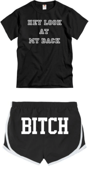 angelwormwood: outfit idea: HEY LOOK  AT  MY BACK   BITCH angelwormwood: outfit idea