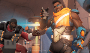 Hey look is Demoman from Overwatch: Hey look is Demoman from Overwatch