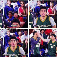 Memes, Hilarious, and 🤖: HEY REF!  CHECKYOUR VOICEMAIL!  ONBAHumor  LEM  I THINK YOU'VE MISSED A FEW CALLS! This was hilarious 😂 #HIMYM https://t.co/9YtSb2v6GV