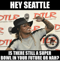 Guess they didn't have any broads in Atlanta (wearing the Zebra stripes) 😏🐼🐼🐼 #CapitalPunishment🏹: HEY SEATTLE  NFL  H TALAC  IS THERE STILLASUPER  BOWLIN YOUR FUTURE OR NAH? Guess they didn't have any broads in Atlanta (wearing the Zebra stripes) 😏🐼🐼🐼 #CapitalPunishment🏹