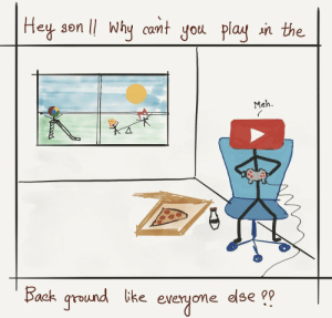 Be Like, Meh, and Omg: Hey son lI why cant you plag n the  an the.  Meh.  Bock gr*  round ke everyome dlse omg-images:  Don't be like YouTube. [OC]