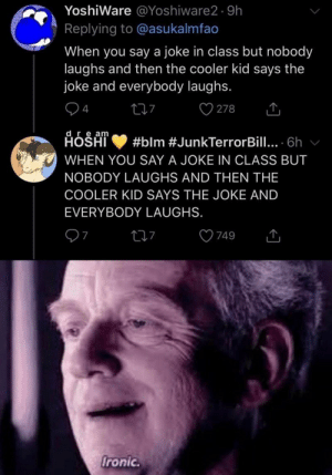 Hey, that's MY joke! #Memes #Dank #Twitter #StarWars: Hey, that's MY joke! #Memes #Dank #Twitter #StarWars