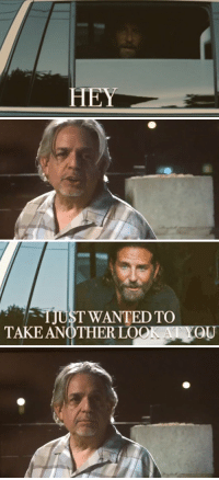 Memes, Star, and 🤖: HEY   TJUST WANTED TO  TAKE ANOTHERLOO A Star Is Born (2018) https://t.co/iibnlqIZYa