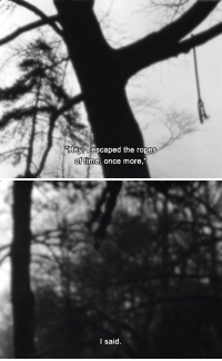 """Journey, Tumblr, and Blog: """"Hey, U escaped the ropes  of time, once more,   I said. 365filmsbyauroranocte:   Reminiscences of a Journey to Lithuania (Jonas Mekas, 1972)"""