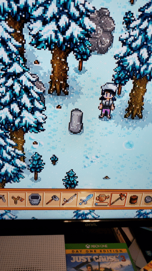 Hey uh..... anyone know what this is? It spawned on my farm over night. Im still in my first year andni have no clue what it is. I havent clicked on it yet bc im still in a bit of shock. I thought it was the strange capsule but it looks nothing like any of the spawns on the wiki. Somone help ;;: Hey uh..... anyone know what this is? It spawned on my farm over night. Im still in my first year andni have no clue what it is. I havent clicked on it yet bc im still in a bit of shock. I thought it was the strange capsule but it looks nothing like any of the spawns on the wiki. Somone help ;;