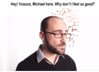 Vsauce : Hey! Vsauce, Michael here. Why don't I feel so good?