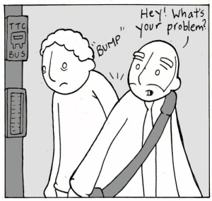 Life, Memes, and 🤖: Hey whats  you problem  TTC  BU 5 New comic on Webtoons about problems...https://www.webtoons.com/en/slice-of-life/lunarbaboon/ep-507-problem/viewer?title_no=523&episode_no=508