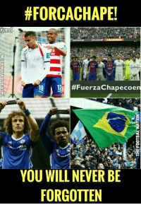 Football is all about Respect 😢 Via: The Football Nation: HFORCACHAPE!  18 #Fuerza Chapecoe  TYRES  YOU WILL NEVER BE  FORGOTTEN Football is all about Respect 😢 Via: The Football Nation