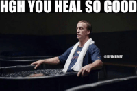 Memes, Nfl, and Broncos: HGH YOU HEAL SO GOOD  CONFLMEMEZ Are the Broncos better off with Osweiler or Manning in the playoffs? LIKE NFL Memes!