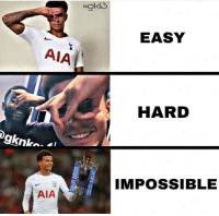 Memes, 🤖, and Easy: Hgkl3  EASY  AIA  HARD  IMPOSSIBLE  AIA