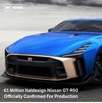 Cars, News, and Run: HH) NEWS  1 Million Italdesign Nissan GT-R50  Officially Confirmed For Production Nissan has confirmed what we've all been expecting - there'll be a run of 50 production GT-R50s