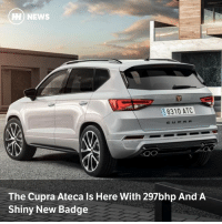 Memes, News, and 🤖: HH) NEWS  8310 ATC  The Cupra Ateca Is Here With 297bhp And A  Shiny New Badge Via @carthrottlenews - Seat has officially launched the Cupra brand as its own separate entity, kicking off proceedings with a near-300bhp version of the Ateca