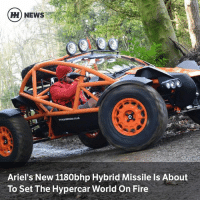 Ariel, Fire, and Memes: HH) NEWS  Ariel's New 1180bhp Hybrid Missile Is About  To Set The Hypercar World On Fire Via @carthrottlenews - It may be a tiny company based in a nondescript part of the British countryside, but Ariel is planning a huge assault on the hypercar elite with a car that can hit 150mph in just 7.8 seconds