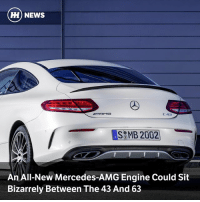 Goals, Memes, and Mercedes: HH) NEWS  C 43  An All-New Mercedes-AMG Engine Could Sit  Bizarrely Between The 43 And 63 Via @carthrottlenews - Despite being the same cubic capacity as the still-new V6 AMG engine, a new mild hybrid straight-six could produce more power and wear a '53' badge, with the goal of somehow finding space between the two existing AMG engines