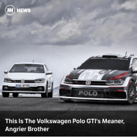 Memes, News, and Polo: HH NEWS  Links wagen  Mo ( orsport  HOB NP 733  This Is The Volkswagen Polo GTI's Meaner,  Angrier Brother Via @carthrottlenews - Volkswagen has released details of its newest rally car, an R5-spec car that can launch to 62mph in a mere 4.1 seconds...