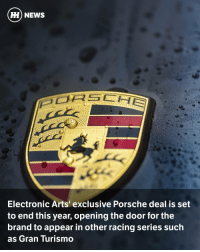"""Via @carthrottlenews - The absence of the Porsche brand in some of the world's major racing titles has to be one of the biggest annoyances in modern gaming. - The issue stems from an exclusive deal between EA Games and Porsche, which has meant that - other than the odd Forza DLC pack - the brand's car's have been stuck in the rather unrealistic world of Need for Speed. Not ideal, given that the company has a habit of building the world's best sports cars. Happily though, it looks like this deal is finally going to end. - Various Porsches made a very welcome appearance in sim racer Assetto Corsa (above) this year, and when speaking to Porsche Branded Entertainment Manager Sebastian Hornung, German site Speed Maniacs wanted to find out how that was possible (translation by GT Planet): - """"According to Sebastian they were also always following what was going on in the gaming industry aside from EA. The license with EA runs out this year, because together they arrived at the realisation that the current situation was not desirable anymore."""" - Assetto Corsa's relationship with the car company has been further strengthened by the use of the 'Pro' version of the game in various Porsche Experience centres, but we will be seeing the brand popping up in many more franchises. A few of Stuttgart's sports cars will be appearing in the next Project Cars instalment, and should be arriving in Forza Horizon 3. Will there be Porsches in Gran Turismo Sport? It certainly seems likely. - 2017 should be an exciting year for racing games…: HH NEWS  ORE HER  Electronic Arts' exclusive Porsche deal is set  to end this year, opening the door for the  brand to appear in other racing series such  as Gran Turismo Via @carthrottlenews - The absence of the Porsche brand in some of the world's major racing titles has to be one of the biggest annoyances in modern gaming. - The issue stems from an exclusive deal between EA Games and Porsche, which has meant that - other than the odd Forza DLC pack - """
