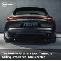 Memes, News, and Porsche: HH) NEWS  S GO 3225  The Porsche Panamera Sport Turismo Is  Selling Even Better Than Expected Via @carthrottlenews - Everyone loves a fast wagon, and the latest slice of proof has come in the form of the order numbers for the Porsche Panamera Sport Turismo estate, which is selling very well in the US