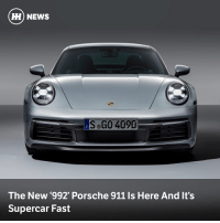 Cars, News, and Porsche: HH) NEWS  S GO 409D  The New '992' Porsche 911 Is Here And It's  Supercar Fast Porsche's latest 911 Carrera is wider, more powerful and packing some rather fancy tech