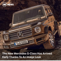 Via @carthrottlenews - The latest version of the iconic Mercedes SUV has been leaked ahead of its Detroit debut: HH NEWS  SoG1050  The New Mercedes G-Class Has Arrived  Early Thanks To An Image Leak Via @carthrottlenews - The latest version of the iconic Mercedes SUV has been leaked ahead of its Detroit debut