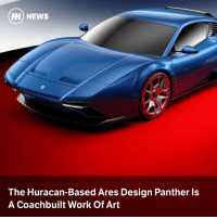 Memes, News, and Work: HH) NEWS  The Huracan-Based Ares Design Panther ls  A Coachbuilt Work Of Art Via @carthrottlenews - Taking inspiration from the De Tomaso Pantera, this supercar based on the Lamborghini Huracan is the latest move in Ares Design's mission to rejuvenate the world of coachbuilding