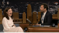 Lorde admitting to Jimmy Fallon she's the Instagram Onion Ring reviewer is hilarious 😂 https://t.co/tu61xXNsvh: HHA/f Lorde admitting to Jimmy Fallon she's the Instagram Onion Ring reviewer is hilarious 😂 https://t.co/tu61xXNsvh