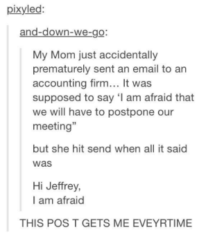 Hi afraid, I'm Jeffrey: Hi afraid, I'm Jeffrey