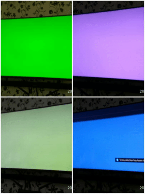 Hi all. I got this multiple changing colours on my display. Tried uninstalling my GPU using DDU and its ok but the problem continued once I reinstalled my GPU driver. Tried using other GPU and everything is fine.: Hi all. I got this multiple changing colours on my display. Tried uninstalling my GPU using DDU and its ok but the problem continued once I reinstalled my GPU driver. Tried using other GPU and everything is fine.