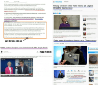 "Donald Trump, Facts, and Fake: Hi, I'm(A)  and Im (B)  ONPOLITICS NEWSLETTER  (B) Our greatest responsibility is to serve our Northwest communities. We are extremely  proud of the quality, balanced journalism that KOMO News produces  Hillary Clinton cites 'fake news' as urgent  threat to democracy  (A) But we're concerned about the troubling trend of irresponsible, one sided news  stories plaguing our country. The sharing of biased and false news has become all too  common on social média  Heidi M. Przybyla, USA TODAY  Published 5 24 p m. ET Dec. B, 2016 | Updated 5:53 р.nt, ET Dec. 8, 2016  (B) More alarming, some media outlets publish these same fake stories... stories that just  aren't true, without checking facts first.  MOST POPULAR  A) Unfortunately some members of  the media use their platforms to push their own  64% of assailants in mass attacks  ersonal bias and agenda to control 'exactly what people think...This is extremel  dangerous to a democracy.  suffered from symptoms of mental  illness, Secret Service report finds  (B) At KOMO it's our responsibility to pursue and report the truth. We understand Truth is  neither politically left nor right.' Our commitment to factual reporting is the foundation  of our credibility, now more than ever.  Veterans Affairs Secretary David  Shulkin is out, Trump announces by  weet  (A) But we are human and sometimes our reporting might fall short. If you believe our  coverage is unfair please reach out to us by going to KOMOnews.com and clicking on  CONTENT CONCERNS. We value your comments. We will respond back to you.  Mike Pence's hometown to host gay  pride festival  Hiltary Clinton said fake news is an epidemic and ""a danger that must be addressed and addressed  quickly"" while speaking on Capitol Hill for a portrait unveiling in honor of retiring Senate Minority  Leader Hary Reid. Dec. 8) AP  (B) We work very hard to seek the truth and strive to be fair, balanced and factual... We  consider it our honor, our privilege to responsibly deliver the news every day.  Attorney General Jeff Sessions  says he won't appoint a second  special counsel  combat  Hillary Clinton warned Thursday about the need to stand up for our democracy and combat  the threat of fake news flooding the internet, resurfacing for a second time since losing the  Nov 8 election to Donald Trump  (A) Thank you for watching and we appreciate your feedback.  No ion to nieooding the intemet resurtacina  Sen Inhn MrCain's naw memnir  part the video edits out  Fake news threatens democracy, Obama says  Gregory Korte, USA TODAY  Published 6:40 p.m. ET Nov. 17, 2016 1 Updated 6:49 p.m. ET Nov. 17, 2016  MSNBC Anchor: ""Our Job"" Is To ""Control Exactly What People Think""  Share your feedl  improve our site  by Tyler Durden  wed, 02/22/2017-23:51  94  POPULAR  During a lively discussion centered on fears that President Trump is ""trying to undermine the media, MSNBC's Mika Brzezinski let slip the  awesome unspoken truth that  the media's ""job is to ""actually control exactly what people think.  Our Job  Here are the 5 be  deals you can fin  usatoday.com 9 hours ago  Saudi A  Richard  A good rule of thumb: At least Google a news story before you share it Video provided by Newsy  Newslook  CONNECT 