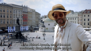 MeIRL, One, and Richard Ayoade: Hi l'm Richard Ayoade, one of the most  consistently disappointing people around. meirl