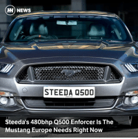 Via @carthrottlenews - As the Ford-tuning experts at Steeda turn their attention to Europe, the Q500 Enforcer shows what a Mustang daily driver can really do...: Hi) NEWS  STEEDA 0500  Steeda's 480bhp Q500 Enforcer Is The  Mustang Europe Needs Right Now Via @carthrottlenews - As the Ford-tuning experts at Steeda turn their attention to Europe, the Q500 Enforcer shows what a Mustang daily driver can really do...