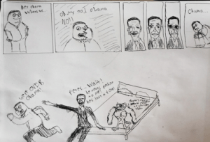 """Hi Reddit this is my fanrt Peter Griffin Obama the title is """"forbidden love"""" I hope reddit likse it it's my first time posting somefanart please be supportive 😘: Hi Reddit this is my fanrt Peter Griffin Obama the title is """"forbidden love"""" I hope reddit likse it it's my first time posting somefanart please be supportive 😘"""