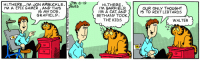 jon arbuckle: HI,THERE !'M JON ARBUCKLE.  IM A EPIC GAMER, AND THIS VA  HI,THERE  I'M GARFIELD.  I'M A CAT, AND  BETHANY TOOK  THE KIDS  AVes  OUR ONLY THOUGHT  IS TO REKT LIBTARDS  IS A DOG  GRAFIELD  WALTER