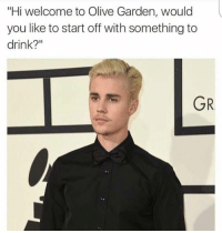 "Memes, Olive Garden, and 🤖: ""Hi welcome to Olive Garden, would  you like to start off with something to  drink?  GR It's good to keep your career options open."