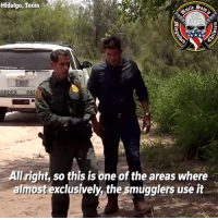 Now, have a liberal explain to you why it's OK for people to come into the United States like this when EVERYONE else must come through a port of entry. @unclesamsmisguidedchildren: Hidalgo, Texas  Est  1775  it  ORDER PA  All right, so this is one of the areas where  almost exclusively, the smugglers use it Now, have a liberal explain to you why it's OK for people to come into the United States like this when EVERYONE else must come through a port of entry. @unclesamsmisguidedchildren