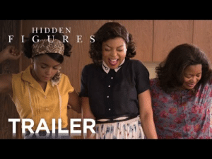 Brains, Confidence, and Nasa: HIDDE N  ILE involuntaryadult:  The official trailer for Hidden Figures is here!  HIDDEN FIGURES is the incredible untold story of Katherine G. Johnson (Taraji P. Henson), Dorothy Vaughan (Octavia Spencer) and Mary Jackson (Janelle Monáe)—brilliant African-American women working at NASA, who served as the brains behind one of the greatest operations in history: the launch of astronaut John Glenn into orbit, a stunning achievement that restored the nation's confidence, turned around the Space Race, and galvanized the world. The visionary trio crossed all gender and race lines to inspire generations to dream big.
