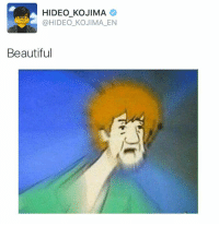 https://t.co/ClbtMODhNM: HIDEO KOJIMA  @HIDEO_KOJIMA EN  Beautiful https://t.co/ClbtMODhNM