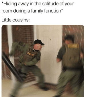 Marry x-mas by TommyFa16 MORE MEMES: *Hiding away in the solitude of your  room during a family function*  Little cousins: Marry x-mas by TommyFa16 MORE MEMES