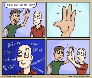 High five [OC]: High five [OC]