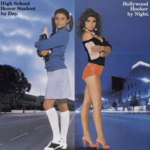 Hookers, School, and Target: High School  Honor Student  by Day  Hollywood  Hooker  by Night 10knotes:  kikmessenger: wow looks like they finally released my biography