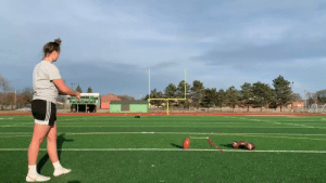 High schooler Maddy Barch kicking a 55-yard field goal with ease 💪 (via @MaddyBarch) https://t.co/e1cjq5Nvn9: High schooler Maddy Barch kicking a 55-yard field goal with ease 💪 (via @MaddyBarch) https://t.co/e1cjq5Nvn9