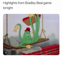 nba nbamemes: Highlights from Bradley Beal game  tonight  GIF nba nbamemes