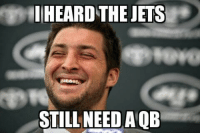 Nfl, Geno Smith, and Jets: HIHEARD THE JETS  STILL NEEDAOB 3 Interceptions for Geno Smith, 2 fumbles + 1 interception for Vick.