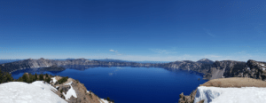 Oregon, Garfield, and Crater Lake: Hiking up the Garfield Peak to surreal views of the Crater Lake, Oregon.