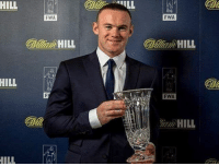 """Wayne Rooney picks up Football Writers prize: """"I would like to thank the Football Writers' Association for this very prestigious award. This was the fifth time the writers had arranged a tribute dinner for an individual player. It is a huge honour for me to be here today and collect the award...I was looking at the list of players who have won it beforehand and to be a part of that list is a great honour and I'm really proud so thank you to everyone who picked for me to get the award...I'd like to say thank you to the managers I have worked with - each one has contributed to me being the player I am - and thank you to my team-mates. I'd also like to say a big 'thank you' to my family and to Paul Stretford who has played a huge role in my life as a friend and an agent. And I'd like to thank Jose Mourinho for giving me tomorrow off!"""" . mufc manchesterunited ggmu mourinho davesaves reddevils oldtrafford darmian mkhitaryan ibrahimovic bailly pogba waynerooney martial anderherrera rashford philjones daleyblind lingard ashleyyoung valencia lukeshaw smalling daviddegea juanmata manutd14_ manutd14_id: HILL  HILL  FWA  HILL  FWA  HILL  FWA  HILL Wayne Rooney picks up Football Writers prize: """"I would like to thank the Football Writers' Association for this very prestigious award. This was the fifth time the writers had arranged a tribute dinner for an individual player. It is a huge honour for me to be here today and collect the award...I was looking at the list of players who have won it beforehand and to be a part of that list is a great honour and I'm really proud so thank you to everyone who picked for me to get the award...I'd like to say thank you to the managers I have worked with - each one has contributed to me being the player I am - and thank you to my team-mates. I'd also like to say a big 'thank you' to my family and to Paul Stretford who has played a huge role in my life as a friend and an agent. And I'd like to thank Jose Mourinho for giving me tomorrow off!"""" ."""