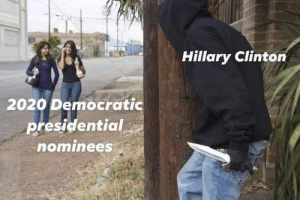 Hillary Clinton, Clinton, and Hillary: Hillary Clinton  2020 Democratic  presidential  ominees