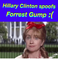 Forrest Gump: Hillary Clinton spoofs  Forrest Gump  Zone
