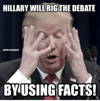 Take a shot if Trump tells the truth. No designated driver required.   H/t Occupy Democrats: HILLARY RIG  DEBATE  OCCUPY DEMOCRATS  BY USING FACTS! Take a shot if Trump tells the truth. No designated driver required.   H/t Occupy Democrats